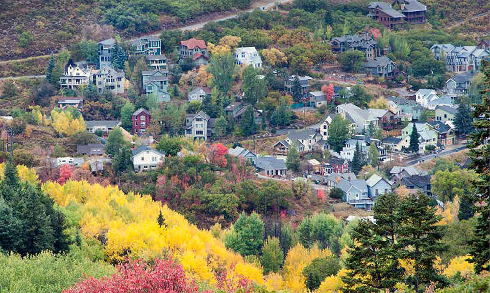 Park City in Autumn